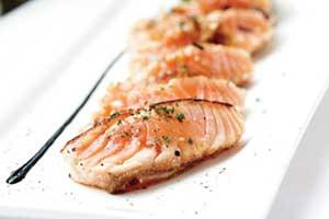 Asian Influenced Seared Salmon