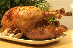 Roast Turkey, Shallots & Thyme