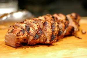 Marinated Grilled Pork Tenderloin