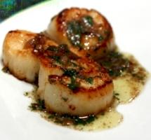 Sautéed Sea Scallops with Joy Butter Sauce