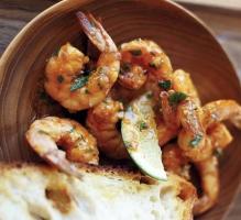 Smoky Citrus Shrimp with Parsley