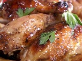 Chicken in Vinegar Sauce