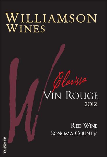Clarissa Vin Rouge 2012