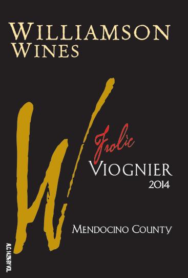 Frolic Viognier 2014