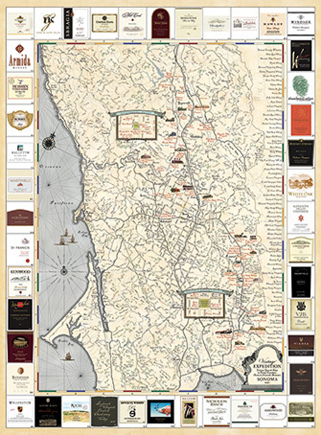 Map - Vintage Expedition