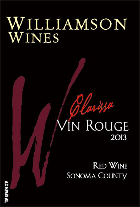 Clarissa Vin Rouge 2013