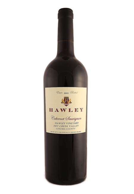2011 Estate Cabernet Sauvignon, Hawley Vineyard