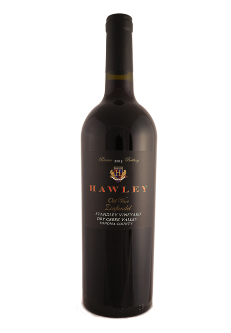 2013 Reserve Old Vine Zinfandel, Standley Vineyard