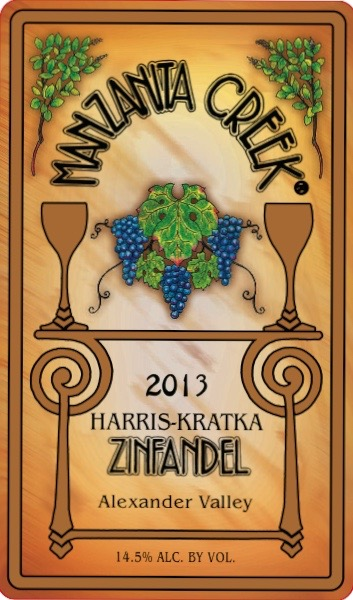 Zinfandel, 2013 Harris-Kratka 3L