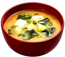 Spicy Miso Soup with Nasi Goreng Chili Oil