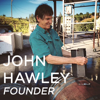John Hawley working on barrels