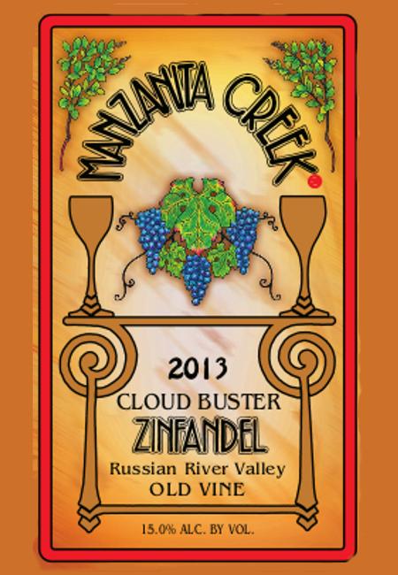 2013 Zinfandel, Cloud Buster 3L