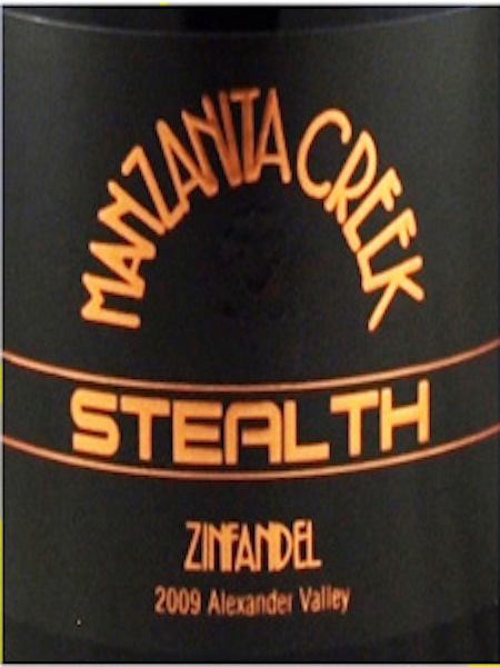 2007 Zinfandel, Stealth,  Alexander Valley