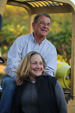 Bill and Betsy Nachbaur, photo taken by Dr. Michael H. Huang