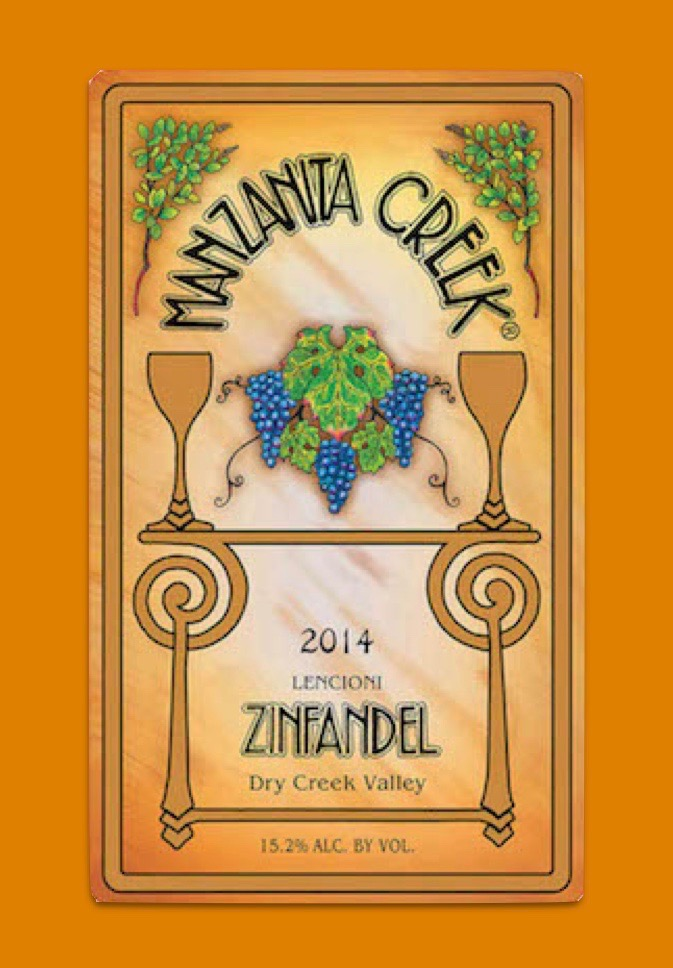 2014 Zinfandel, Lencioni, Dry Creek Valley