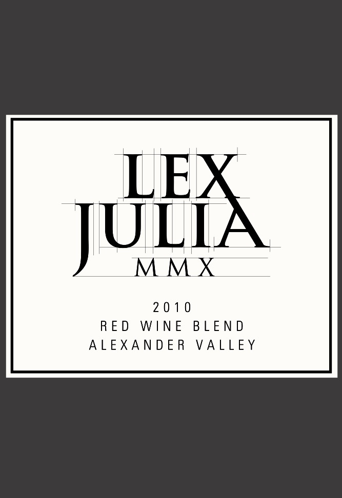 Red Wine Blend, 2010, Lex Julia
