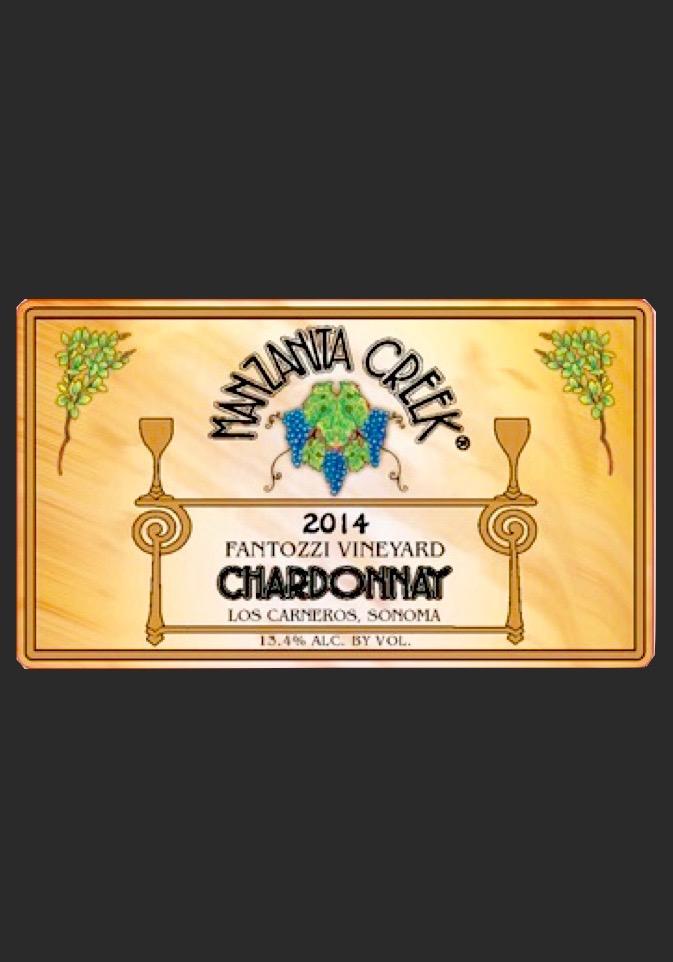 Chardonnay, 2014 Fantozzi, Carneros