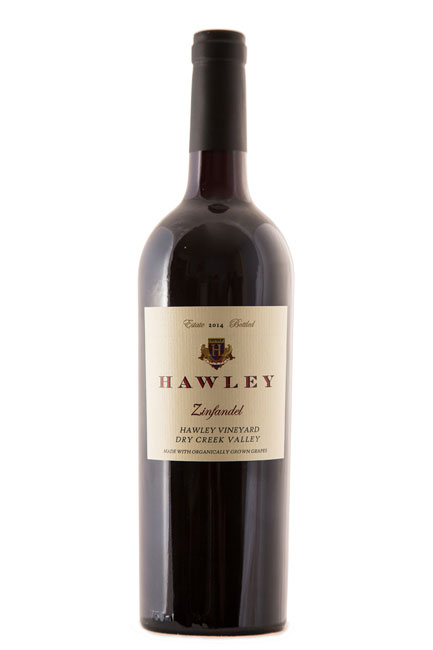 2014 Estate Zinfandel, Hawley Vineyard, Dry Creek Valley
