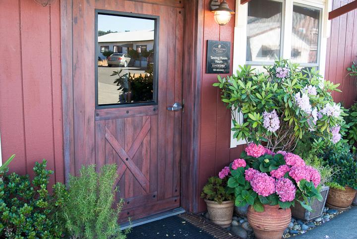 Tasting Room front door