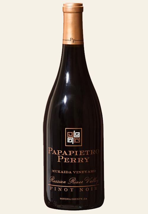 bottle shot of Mukaida Vineyard Pinot Noir