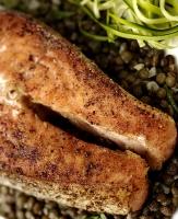 Seared Salmon & Moroccan Spice Crust