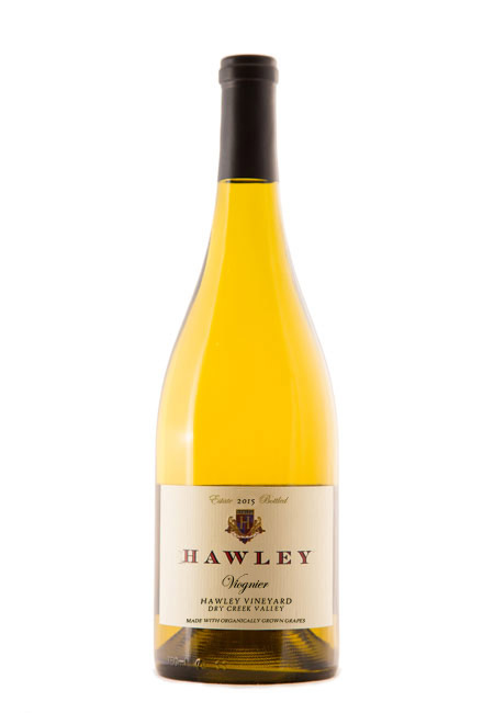 2015 Estate Viognier, Hawley Vineyard