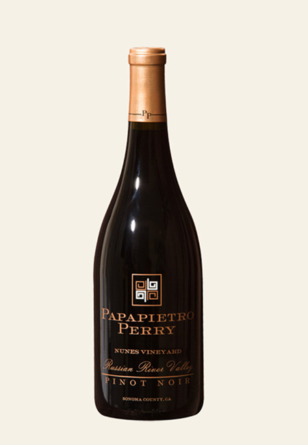 bottle shot of Papapietro Perry Nunes Vineyard Pinot Noir