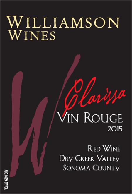 Clarissa Vin Rouge 2015