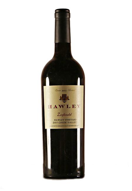 2015 Estate Zinfandel, Hawley Vineyard