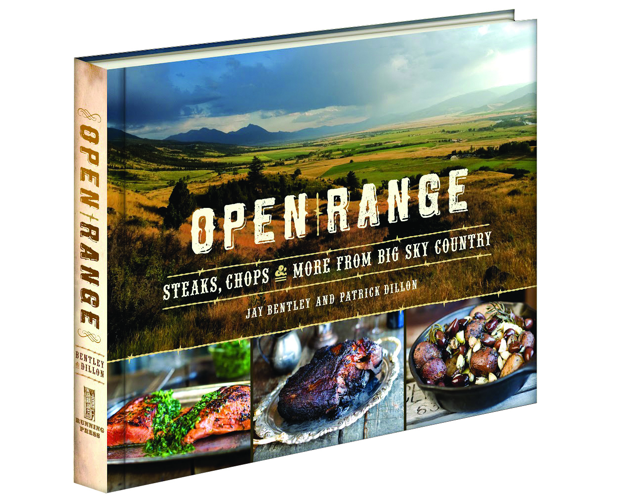 Open Range Cookbook signed by Author/Winemaker Patrick Dillon