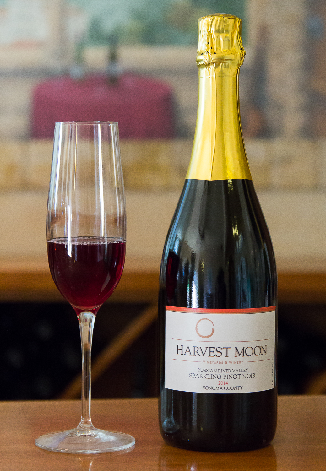 Estate Dry Sparkling Pinot Noir Rouge 2014