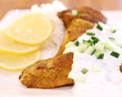 Spice Crusted Petrale Sole