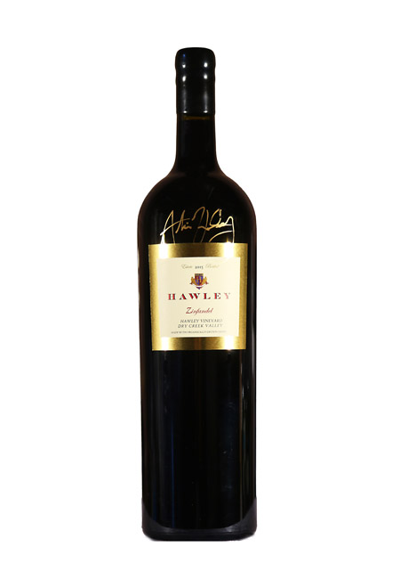 2015 Estate Zinfandel, Hawley Vineyard 3L  Double Magnum