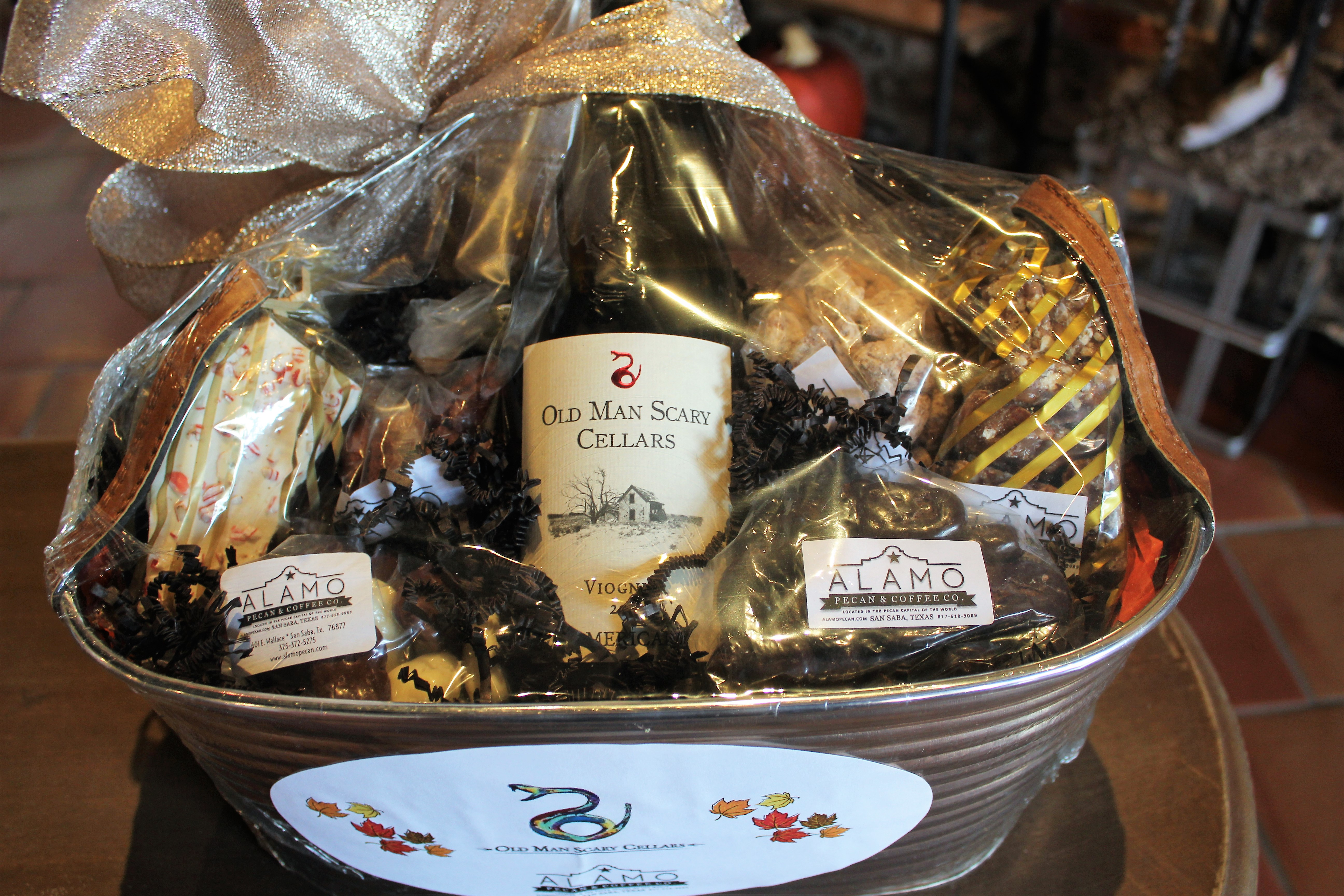 Gift Basket White Wine