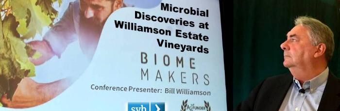 picture of Bill Williamson presenting
