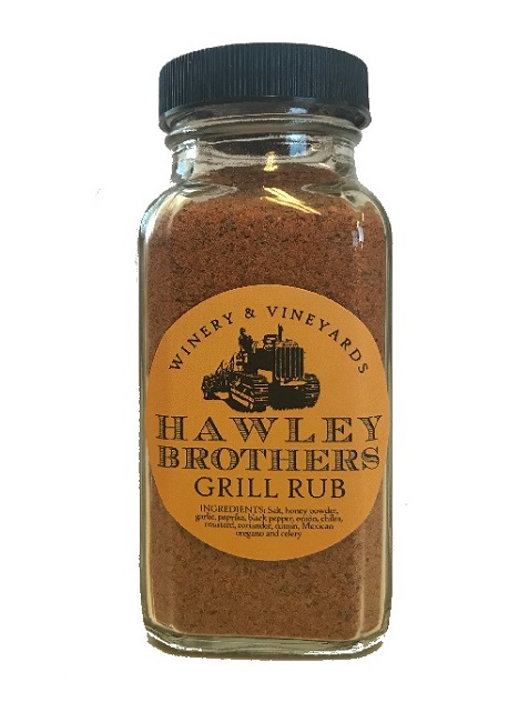 Hawley Brothers Grill Rub, Spice Blend 6 oz.