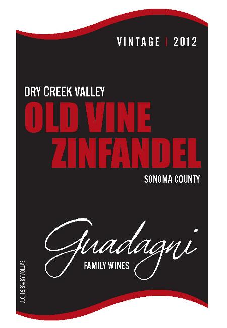 2012 Old Vine Zinfandel