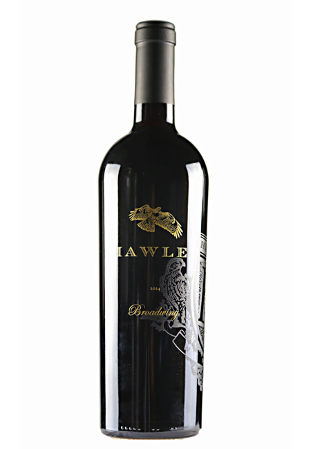 2014 Broadwing, Estate Meritage, Hawley Vineyard