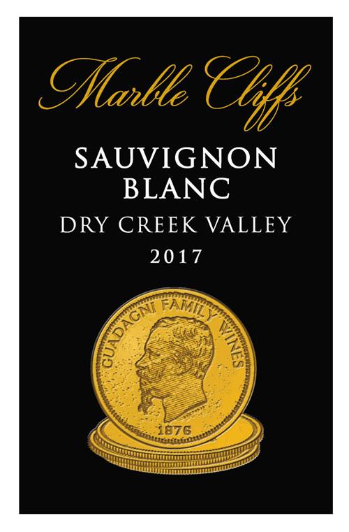 2017 Marble Cliffs Sauvignon blanc
