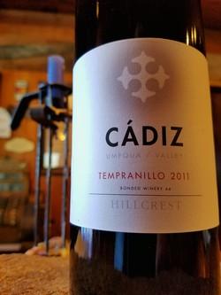 2011 Cadiz, Tempranillo