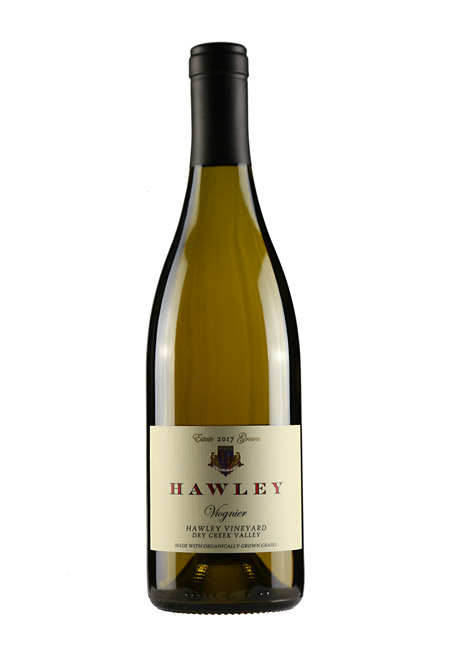 2016 Estate Viognier, Hawley Vineyard