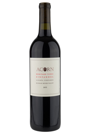 2015 Heritage Vines™ Zinfandel  Alegría Vineyards