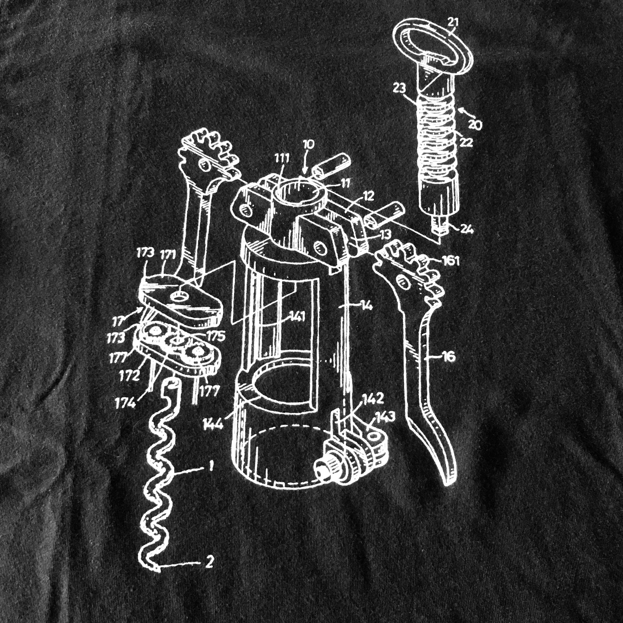 T-Shirt  Corkscrew Black