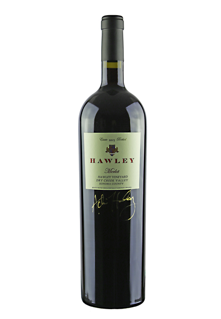 2015 Estate Merlot, Hawley Vineyard 1.5L Magnum