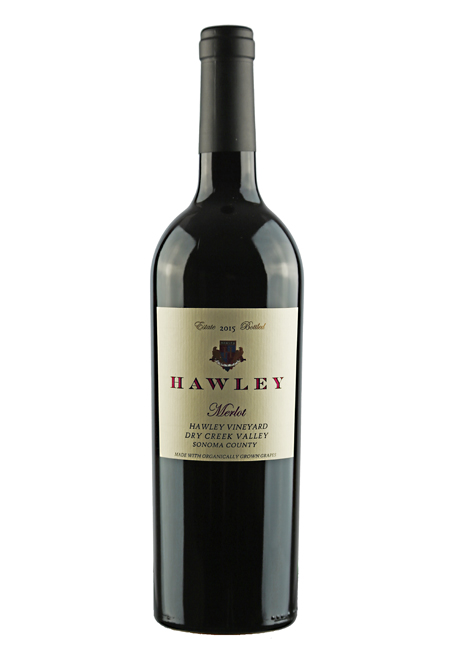 2015 Estate Merlot, Hawley Vineyard
