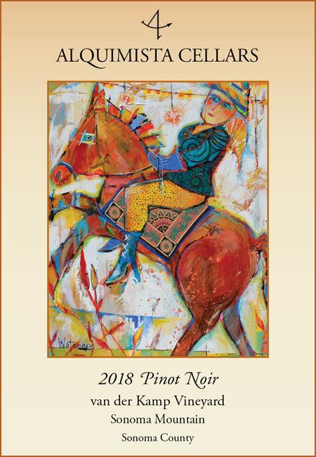 2018 van der Kamp Vineyard Pinot Noir