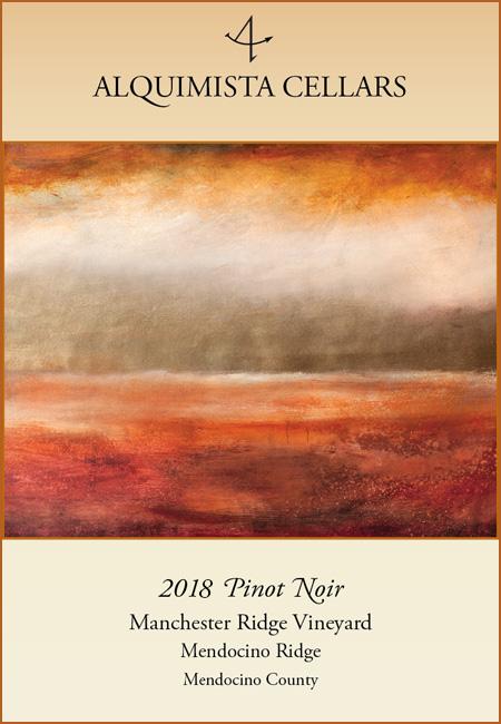 2018 Manchester Ridge Vineyards Pinot Noir