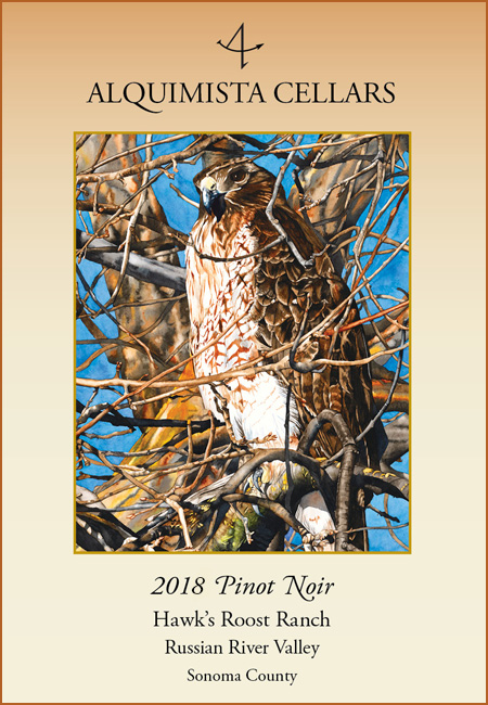 2018 Hawk's Roost Ranch Pinot Noir