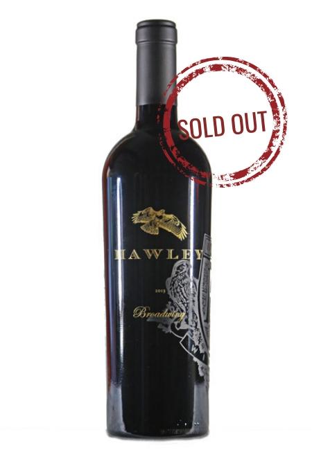 2013 Broadwing, Hawley Vineyard- SOLD OUT