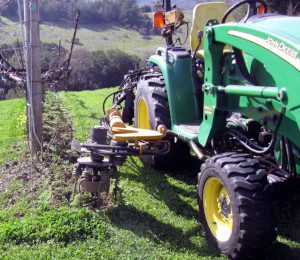 Rotary Mower Vineyard Weed Control